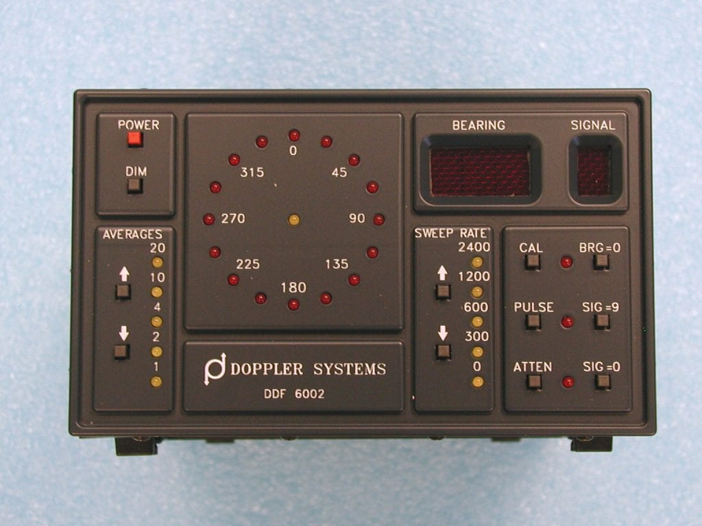 DDF6002 Display Processor for Series 6100 Direction Finders